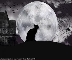 Układanka Noc Halloween