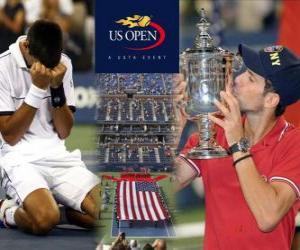 Układanka Novak Djokovic 2011 US Open