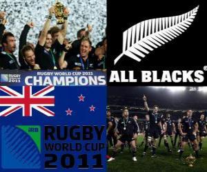 Układanka Nowej Zelandii w rugby mistrzem świata. Puchar Świata w Rugby 2011