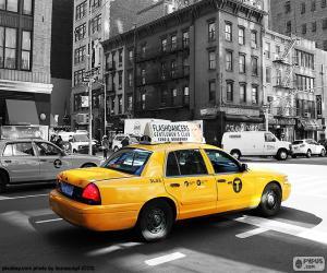 Układanka Nowojorskie taksówki