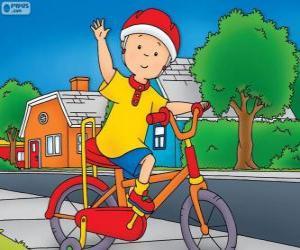 Układanka Nowy rower Callou