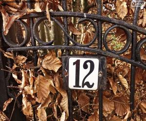 Układanka Numer 12