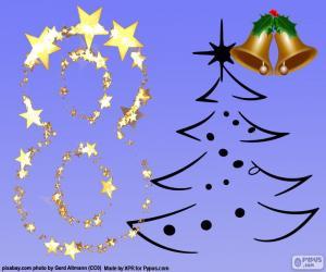 Układanka Numer 8 na Boże Narodzenie
