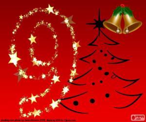 Układanka Numer 9 Boże Narodzenie