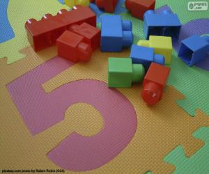 Układanka Numer pięć