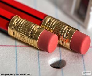 Układanka Ołówki z Gumka