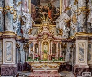 Układanka Ołtarz Kościoła