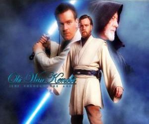 Układanka Obi-Wan Kenobi, mistrzów Jedi