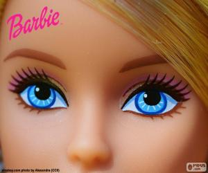 Układanka Oczy Barbie
