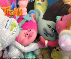 Układanka Ogarnięci trolls