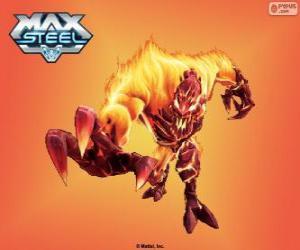 Układanka Ogniowy Elementor, Max Steel