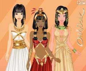 Układanka Oh My Dollz egipski