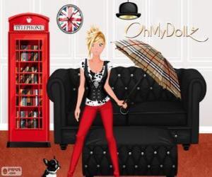 Układanka Oh My Dollz Londyn