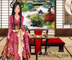 Układanka Oh My Dollz orientalne