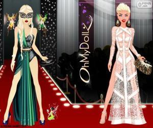 Układanka Oh My Dollz pokazie mody