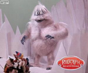 Układanka Ohydny potwór Śnieg Północy