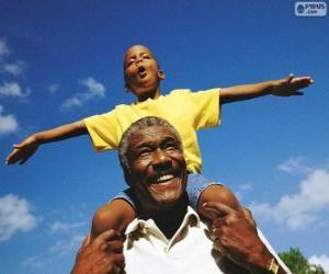 Układanka Ojciec i syn