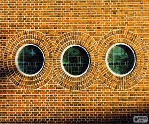 Układanka Okrągłe okna
