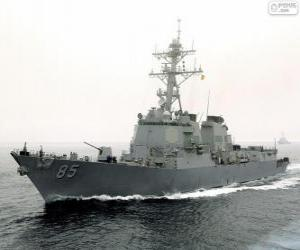 Układanka Okręt, niszczyciel