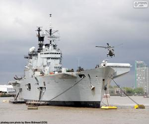 Układanka Okręt wojenny