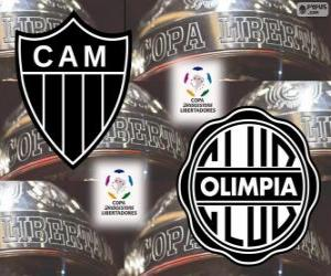 Układanka Olimpia Asuncion vs Atlético Mineiro. Copa Libertadores Finał 2013