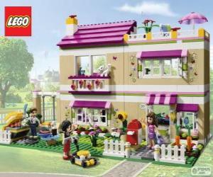 Układanka Olivia dom, Lego Friends