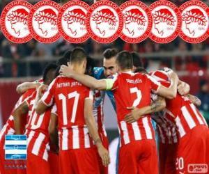 Układanka Olympiakos mistrz 2013-2014