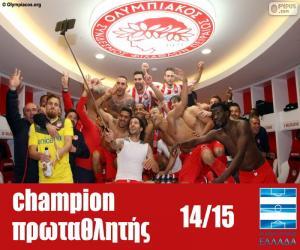Układanka Olympiakos mistrz 2014-2015