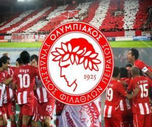 Układanka Olympiakos Piraeus FC, grecki piłce nożnej