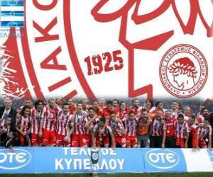 Układanka Olympiakos Pireus, Super League 2011-2012 mistrz, grecki Football League