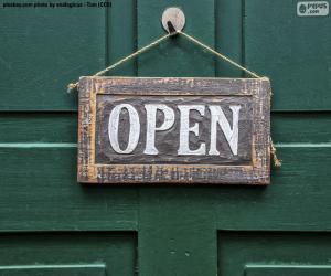 Układanka Open, Otwarte