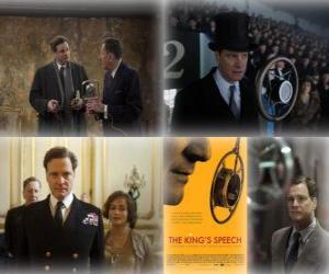 Układanka Oscar 2011 - Najlepszy Film: Jak zostać królem (1)