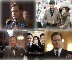 Układanka Oscar 2011 - Najlepszy Film: Jak zostać królem