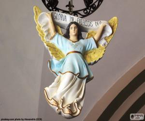 Układanka Otwartymi ramionami Anioł