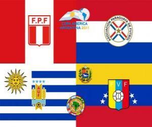 Układanka Półfinałów Copa América Argentyna 2011