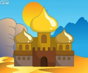 Układanka Pałac Aladyn i księżniczka