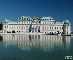 Układanka Pałac Belvedere, Austria