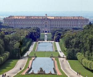 Układanka Pałac Królewski w Casercie, Włochy