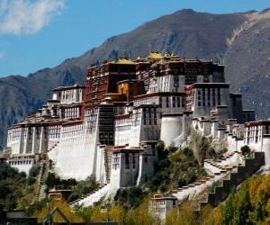 Układanka Pałac Potala, Tybet, Chiny