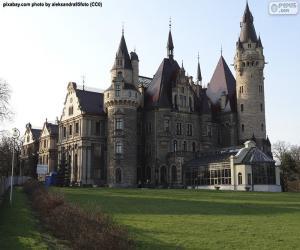 Układanka Pałac w Mosznej, Polska