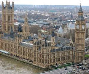 Układanka Pałac Westminsterski, Wielka Brytania