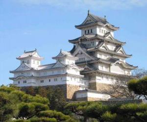Układanka Pałacu Cesarskiego w Kioto, Japonia