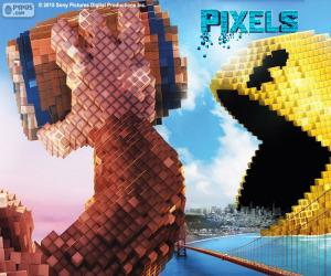 Układanka Pac-Man i Donkey Kong