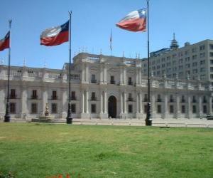 Układanka Palacio de La Moneda, Chile