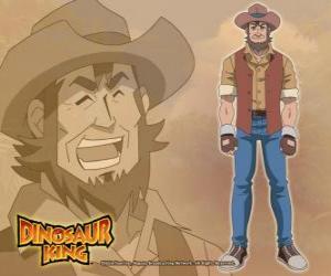 Układanka Paleontolog Dr. Spike Taylor, Dr. Kenryu Kodai. Max jego ojciec jest opanowany z dinozaurami
