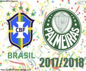 Układanka Palmeiras, brazylijski mistrz 2018