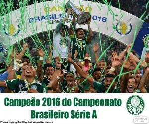Układanka Palmeiras, mistrz Brazylii 2016