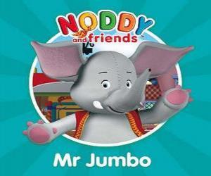 Układanka Pan Jumbo słonia