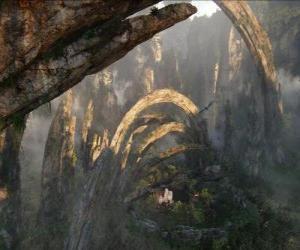 Układanka Pandora, planety na'vi