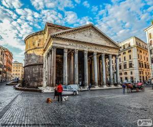 Układanka Panteon, Rzym